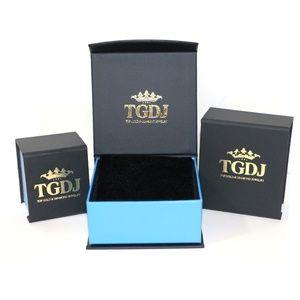 "TGDJ Accessories - 14K Yellow 2.6mm Figaro 10+7 Pave Chain - 16"""
